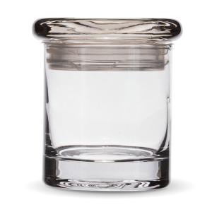 Smell proof 1/4 ounce stash jar plain clear