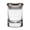 Smell proof 1/8 ounce stash jar clear