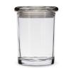 Smell proof 1 ounce stash jar plain clear