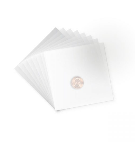 4″x 4″ White PTFE Non-Stick Sheets