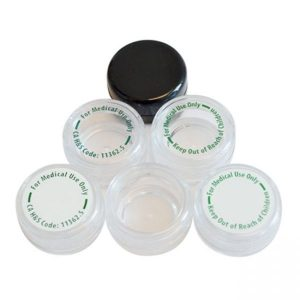 5ML Polystyrene Containers for 1 Gram