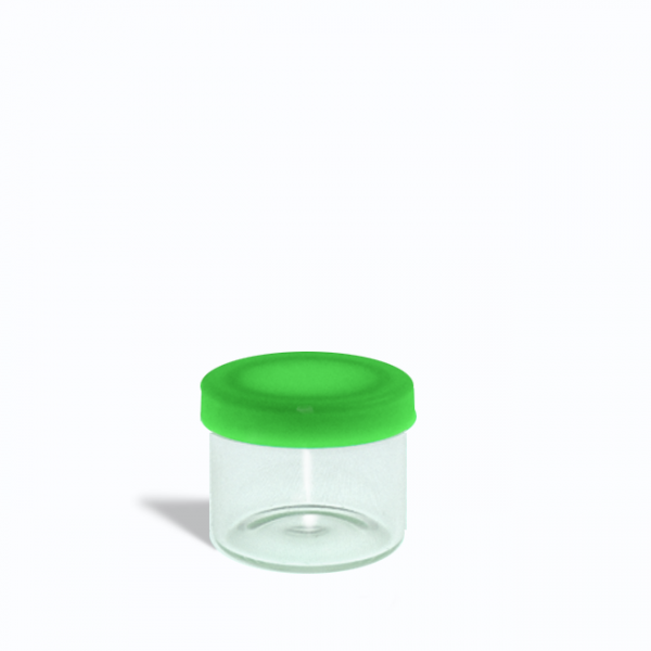 6ml-glass-containers-for-1-gram-with-green-lids