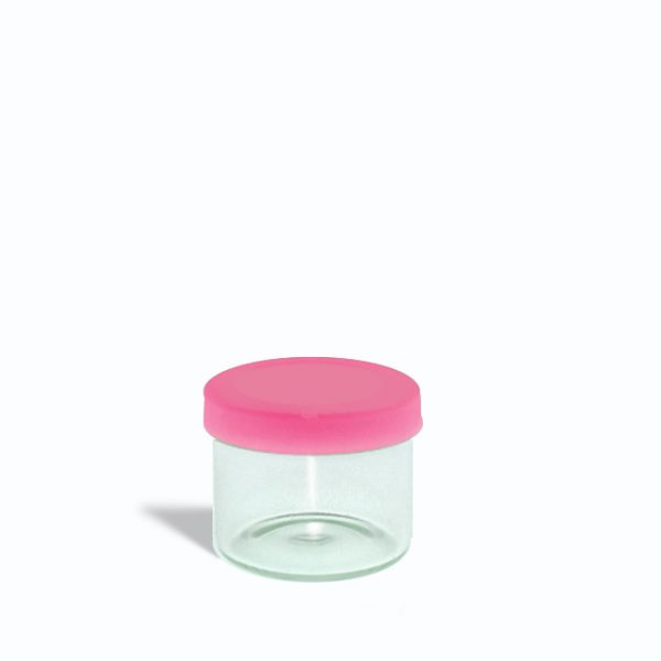 6ml-glass-containers-for-1-gram-with-pink-lids