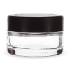 Child Resistant 1 ounce jar with black lid