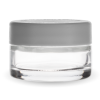Child Resistant 1 ounce jar with white lid