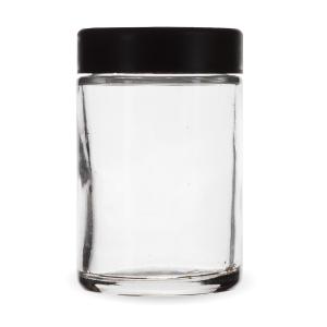 5 Oz Child Resistant Jar with Black Lid