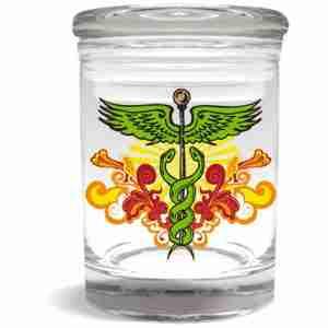 Caduceus Stash Jars