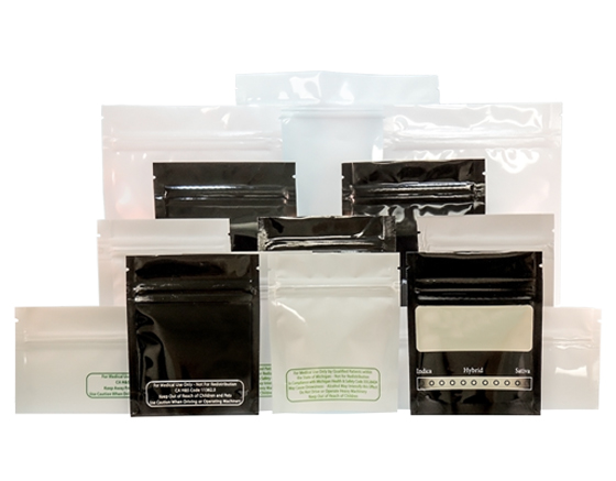 Cannaline smell proof bags for 1/4 oz