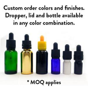 Glass Tincture Dropper Bottles
