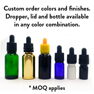 Glass Tincture Dropper Bottles