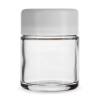 Child Resistant Jar with White Lid for 1/8th Oz