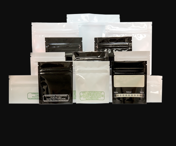 cannaline packaging bags for 1 gram, zipper bags