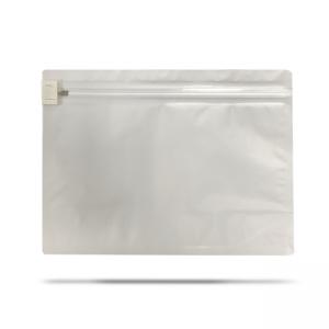 Cannaline large 12 x 9 matte white child resistant re-usable exit bags