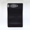 Smell proof Child Resistant Clip Bag for 1/4 ounce, matte black