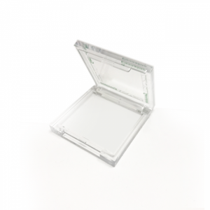 Crystal Clear Hinged Polystyrene Boxes