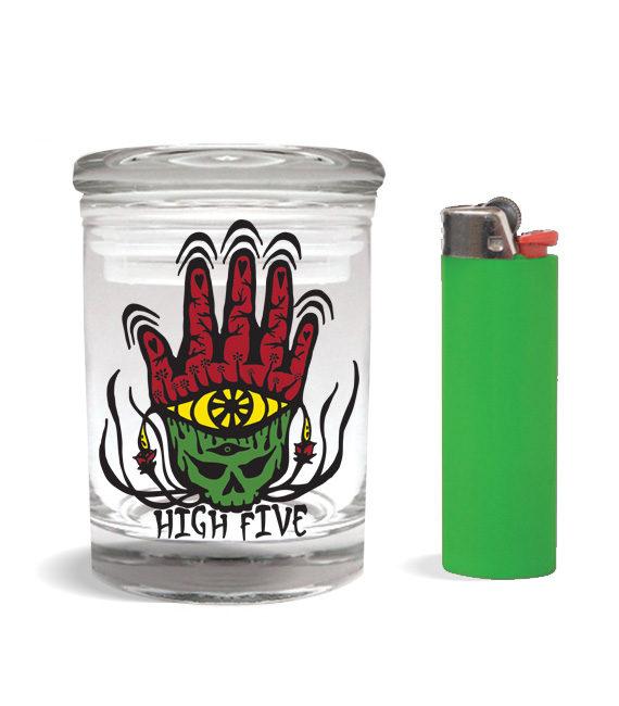 high 5 stash jar for 1-4-ounce-1