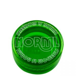 Norml green 7ml Acrylic container (case of 1000)