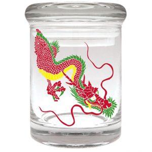 Rasta Dragon Stash Jar 1/8th ounce
