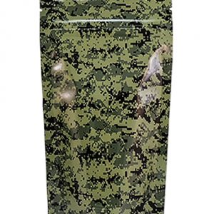 Stealth Bag Green Camo print – Large 5 Pack