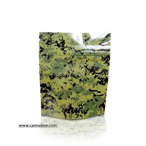 Stealth Bag Green Camo print – Small 15 Pack