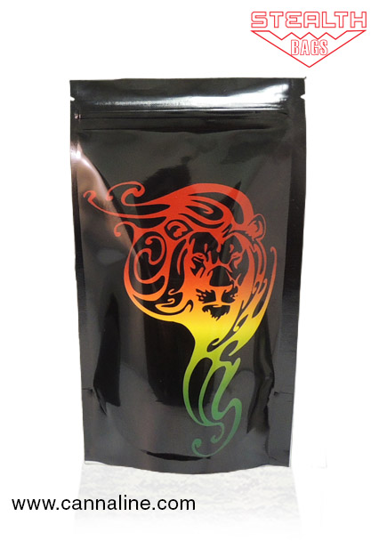 Stealth Bag Rasta Lion – Large 5 Pack