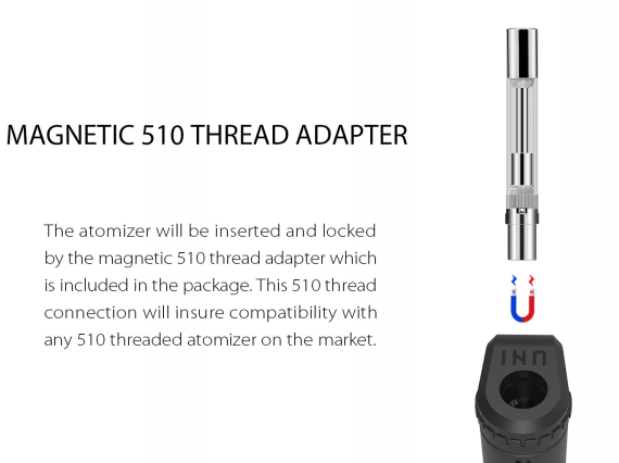 magnetic 510 thread adapter