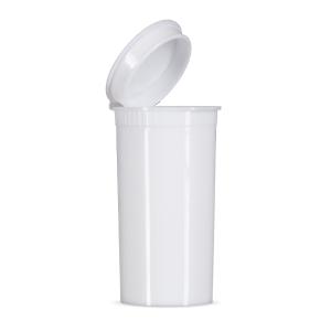 13 Dram Child Resistant Pop Top - White