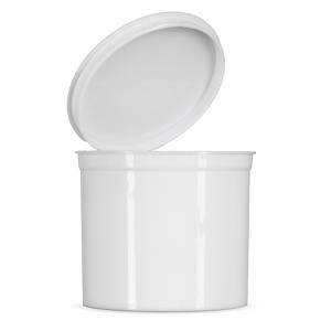 90 Dram Child Resistant Pop Top - White