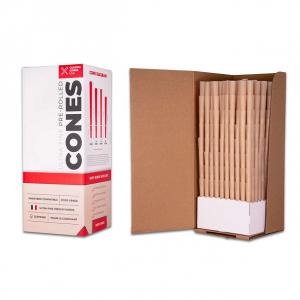 1 Gram (109mm) Pre-Rolled Cones - Unrefined Brown