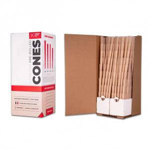 1/2 Gram (84mm) Pre-Rolled Cones - Unrefined Brown
