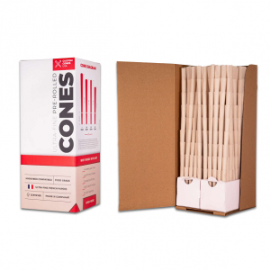 1/2 Gram (84mm) Pre-Rolled Cones - 100% Organic Hemp Paper