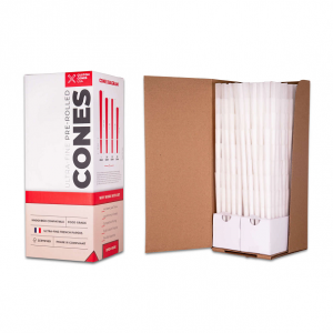 1 Gram (109mm) Pre-Rolled Cones - Refined White