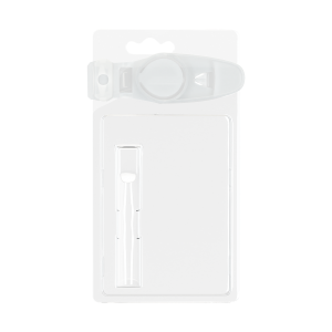 Child Resistant blister pack for .5G flat tipped cartridge