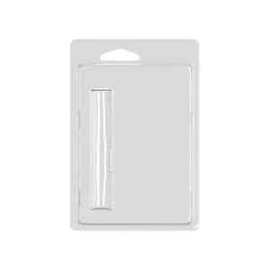 Blister Packaging for 0.5ml Vapor Cartridges with ROUND TIPPED mouthpiece