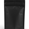 Solid black EZ-open 1 ounce smell proof bags