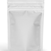 Solid white EZ-open 1 ounce smell proof bags