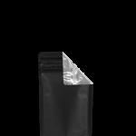 Cannaline's 1 Gram Black & Clear child resistant smell proof EZ-Open Mylar bag