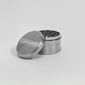 Cannaline Grinders (2.5″) - Silver