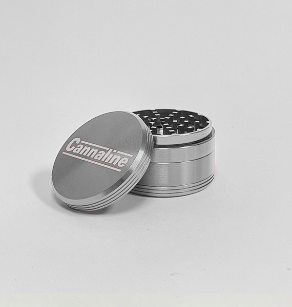 Cannaline Small Silver Grinder