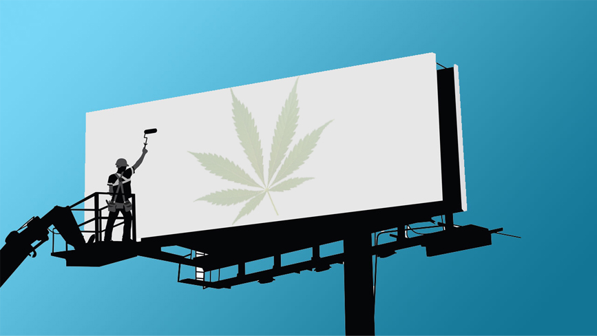 marijuana advertising