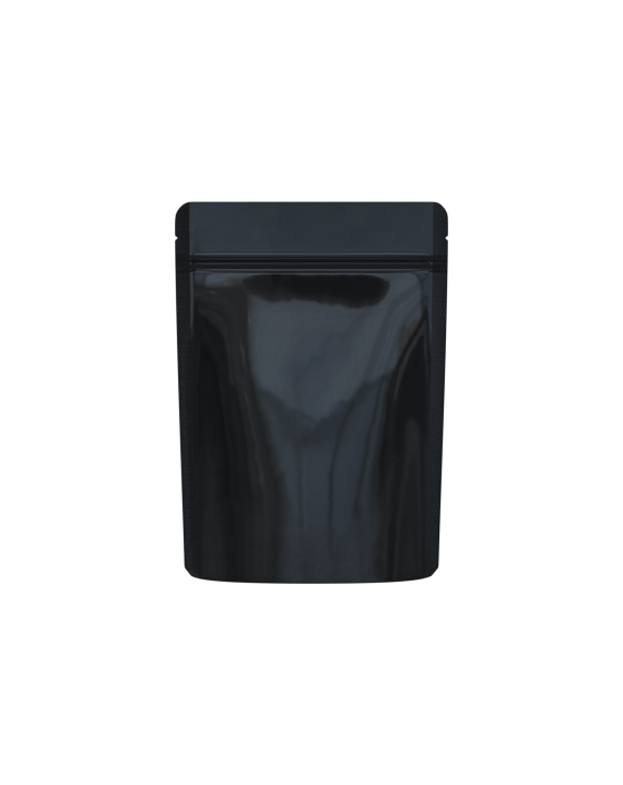black/clear packaging bags for 1/8 oz