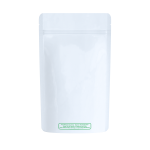 """Solid white """"best practice"""" labeled bags for 1/2 ounce"""
