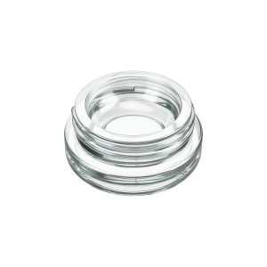 9ml clear child resistant jars