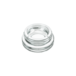 5ml clear glass concentrate jars