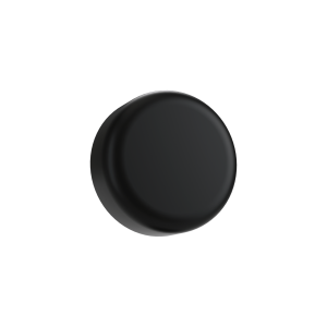 Cannaline's 5 ML child resistant matte black push and turn lid