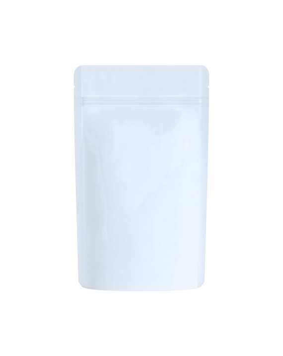 solid white packaging bags for 1/4 oz