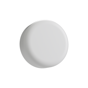 Cannaline's 9ML child resistant matte white push and turn lid