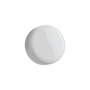 Cannaline's 5 ML child resistant glossy white push and turn lid
