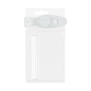 Child resistant blister for 1G round tipped cartridge