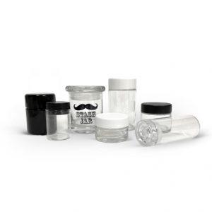 Glass Flower Jars